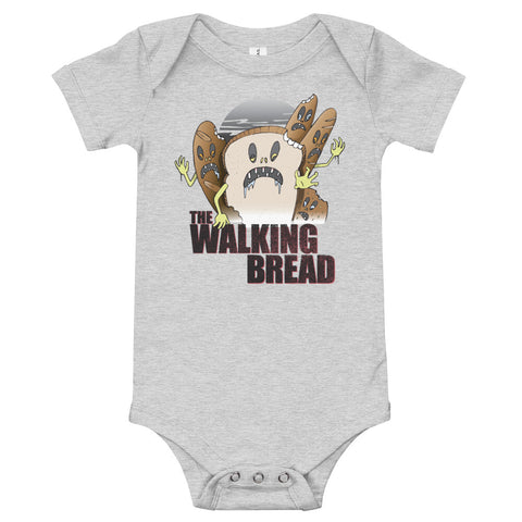 The Walking Bread Baby Onesie - punpantry