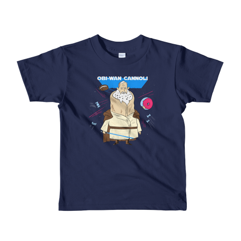 Obi-Wan Cannoli Kid's T-Shirt - punpantry