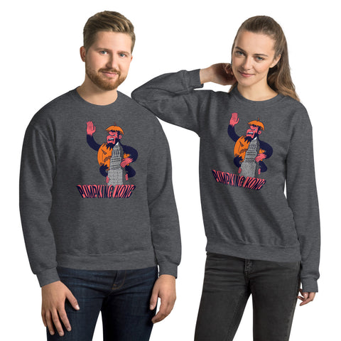 PumpKing Kong Crewneck Sweatshirt - punpantry