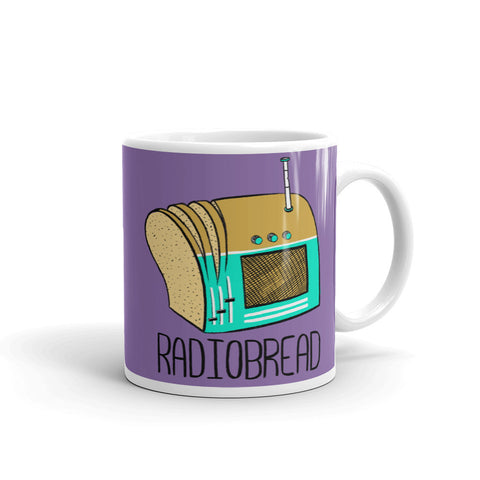 Radiobread Ceramic Mug - punpantry