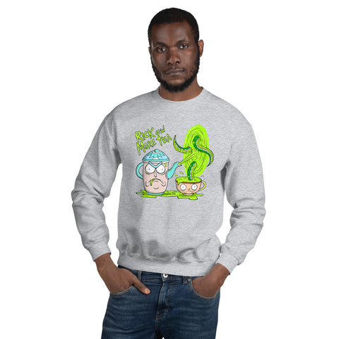 Rick & More Tea Crewneck Sweatshirt - punpantry