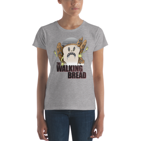 The Walking Bread Women's T-Shirt - punpantry