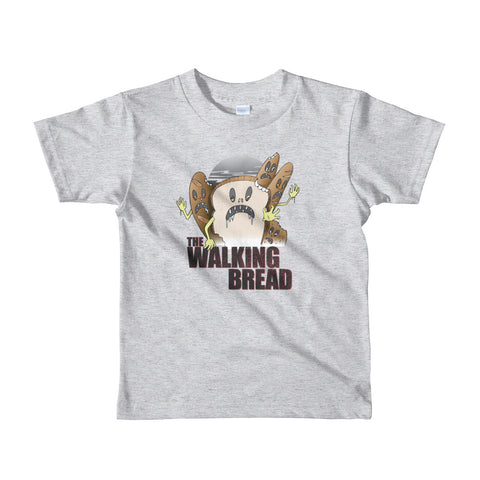 The Walking Bread Kid's T-Shirt - punpantry