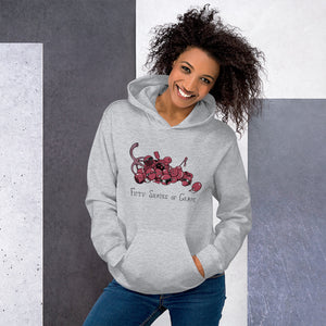 50 Shades Of Grape Hooded Sweatshirt - punpantry