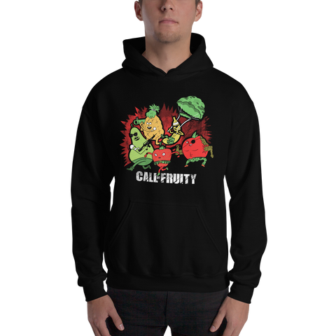 Call Of Fruity Hooded Sweatshirt - punpantry