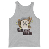 The Walking Bread Unisex  Tank Top - punpantry