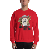 The Walking Bread Crewneck Sweatshirt - punpantry
