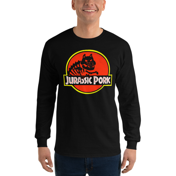 Jurassic Pork Long Sleeve T-Shirt - punpantry