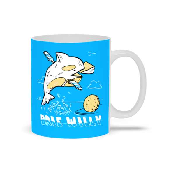 Brie Willy Ceramic Mug - punpantry