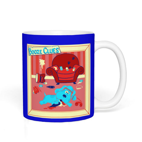 Booze Clues Ceramic Mug - punpantry
