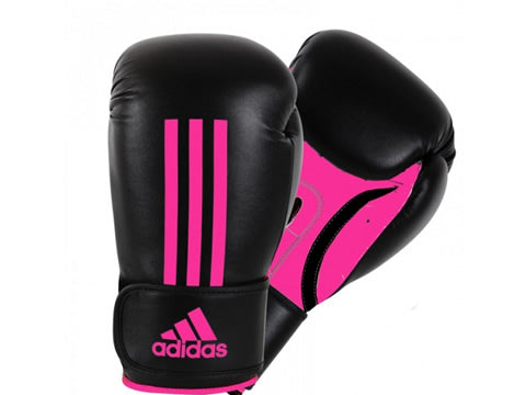 Power 100 Boxing Glove Negro/Rosado