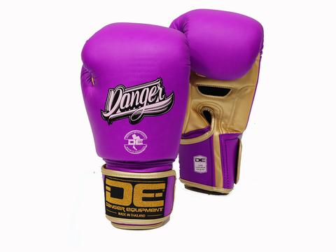 Boxing gloves DEBGX-007-SL Purple/Golden
