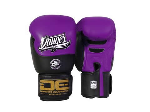 Boxing gloves DEBGE-008 Purple/Black