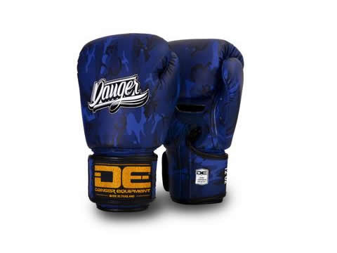 Boxing gloves DEFBG-003 Blue