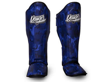 Shin Guards Army Edition DEFSG-003 Blue