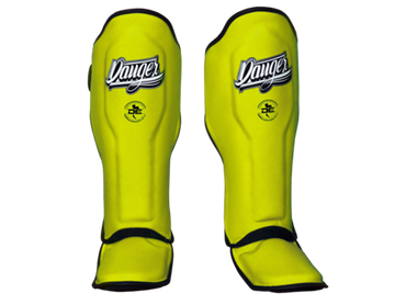Shin Guards Super Max DESGX-002 Yellow