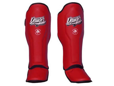 Shin Guards Super Max DESGX-002 Red