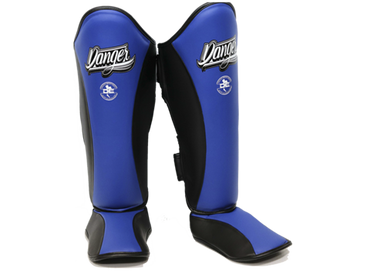 Shin Guards Evolution DESGE-003 Blue/Black