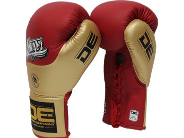 Boxing gloves DEBGCO-001 Red/Gold