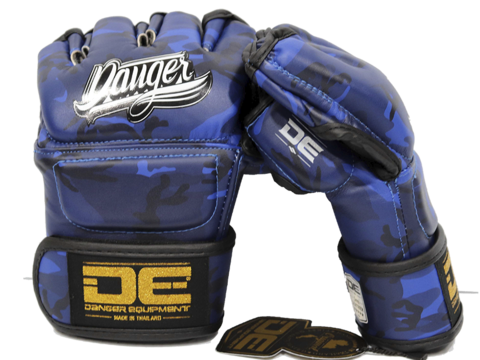 MMA Gloves DEMGPR-002 Army Blue