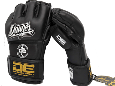 MMA Gloves DEMGPR-002 Black