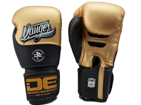 Boxing gloves DEBGE-008 Golden/Black