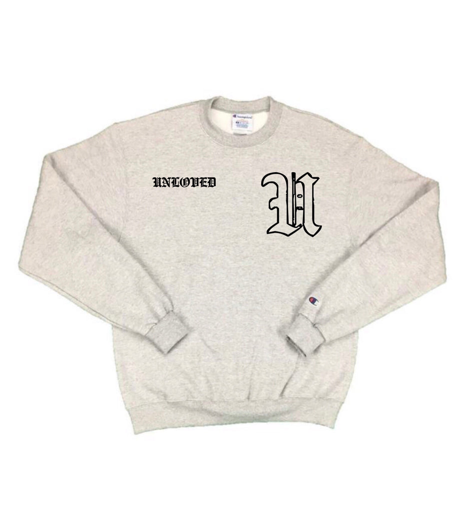 Grey Old English Crewneck