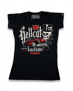 Hotrod Hellcat - Ladies Kustoms Shirt