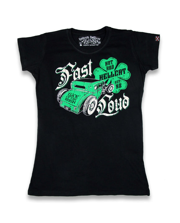 Hotrod Hellcat - Ladies Irish Shirt