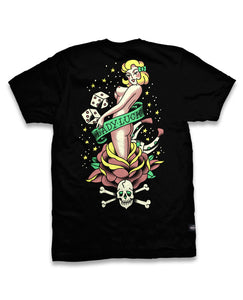 Liquorbrand - Mens Lady Luck Tshirt