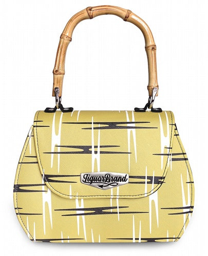 Liquorbrand - Atomic Yellow Handbag