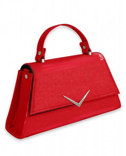 Liquorbrand - Chevron Red Handbag