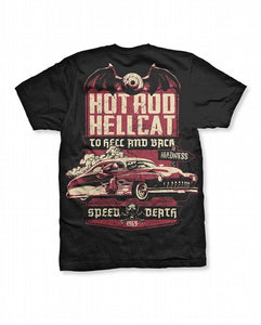 Hotrod Hellcat - Mens Speed Death TShirt