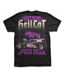 Hotrod Hellcat - Mens Speed Kills TShirt