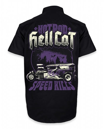 Hotrod Hellcat - Mens Speed Kills Work Shirt
