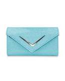 Liquorbrand - Chevron Blue - Women's Wallets