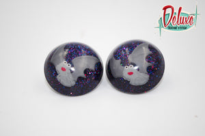 Kitschy Bats - 25mm Round top domes