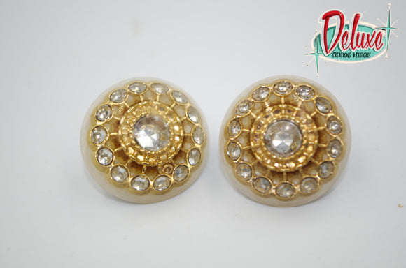 Vintage Desire - 25mm Round top domes
