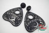 Planchette  - dangle earrings