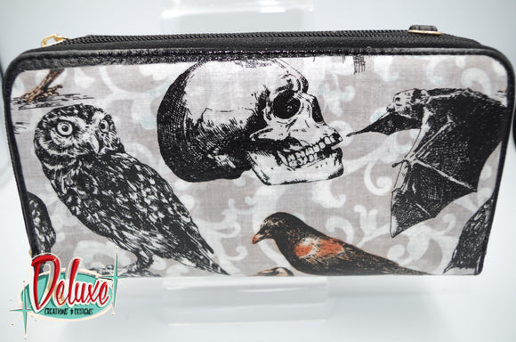 Katt Mercy - Ladies Double Zipper Wallet / Purse