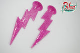Bolts of Lightning  - Dangle earrings