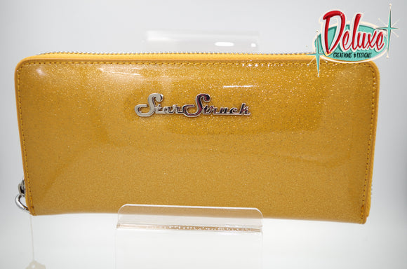 Star Struck Wristlet - Gold