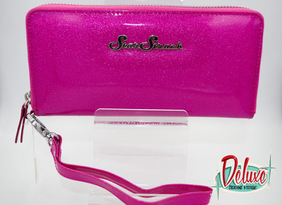 Star Struck Wristlet - Bubblegum Pink