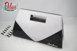 Star Struck Vixen Clutch - Black/Silver