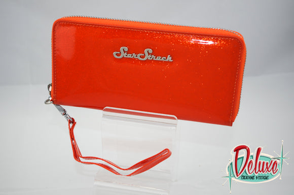 Star Struck Wristlet - Orange Crush