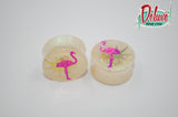 20mm Flamingo Surprise Plugs