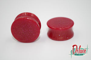 24mm Cherry Red Plugs