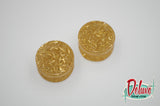 20mm Golden Sparkles Plugs