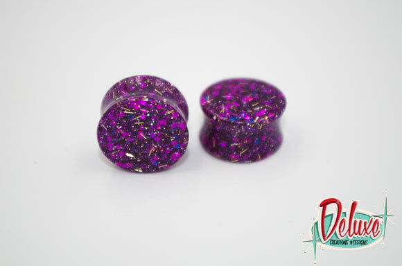 18mm Fuchsia Splendor Plugs
