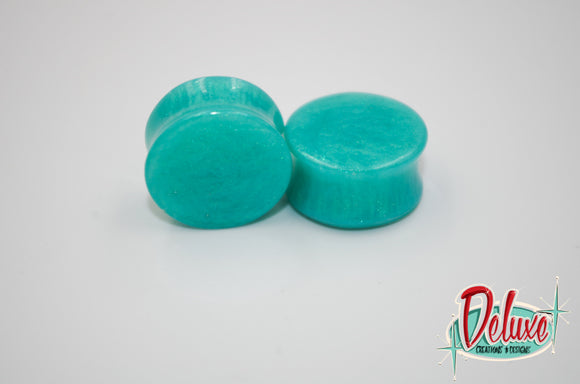20mm Turquoise Plugs